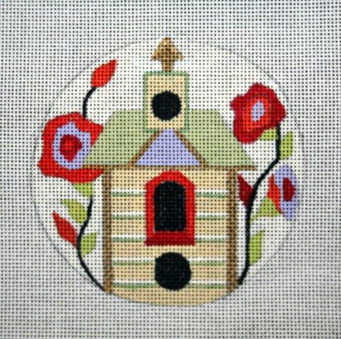 "Tiny Birdhouse 1 4""  18 mesh"
