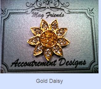 gold daisy