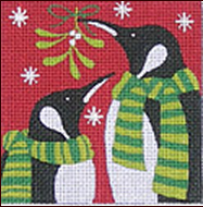 penguin mistletoe