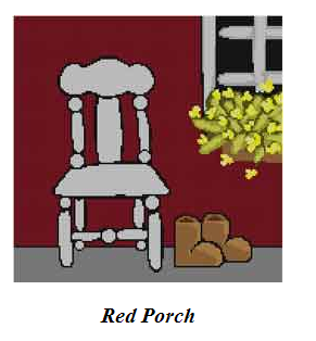 red porch