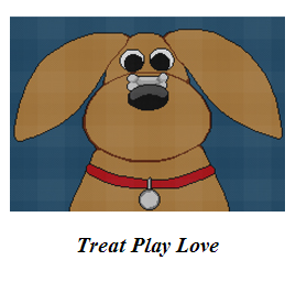treat play love