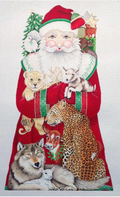 peacable kingdom santa