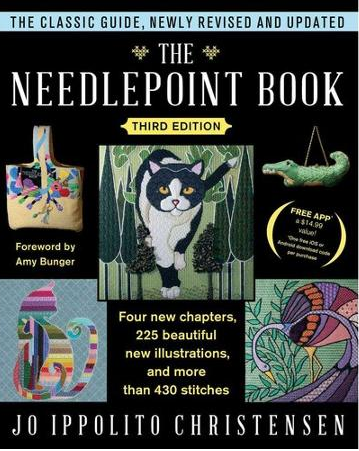 new needlepoint book
