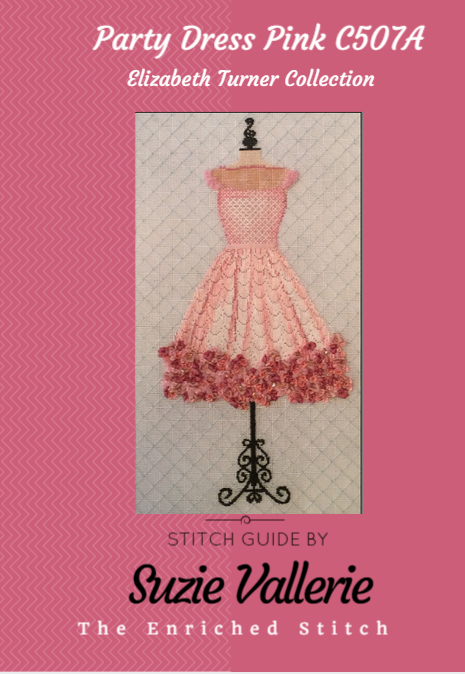 pink party dress cover