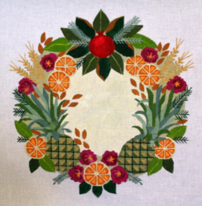 pineapple wreath