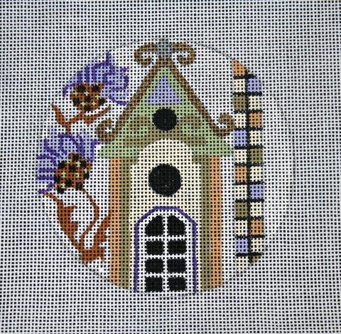 "4"" Thistle Birdhouse 18 mesh"