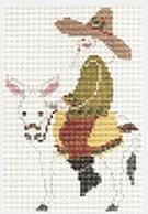 843 santa on burro