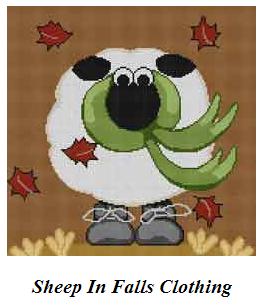 sheep in fall