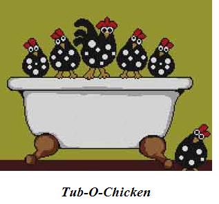 tub o chicken