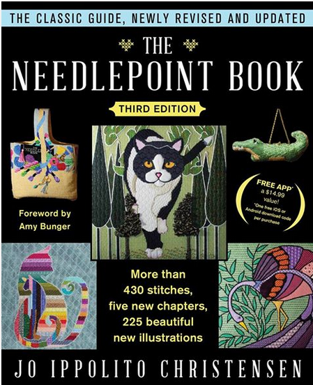needlepoint book